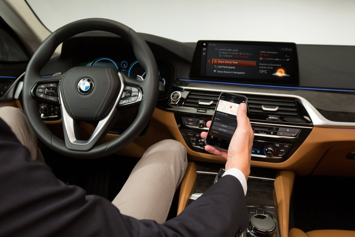 BMW ConnectedDrive - BMW Serie 5 G30 Connected OnBoard