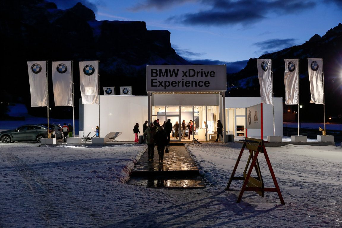 BMW xDrive Experience - BMW Mountain 2016-2017