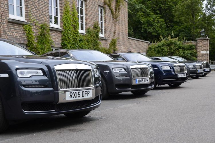 Rolls Royce Official Shuttle Cars
