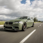 BMW M5 F10 Military Green by Vorsteiner