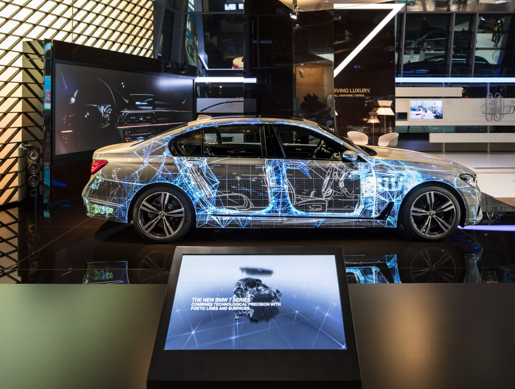 Bmw Projection Mapping Come Nasce Una Bmw Serie 7