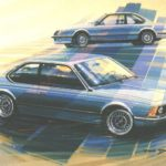Paul Bracq - BMW Serie 6 E24 Shark Nose Design Evolution