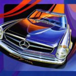 Paul Bracq - Mercedes-Benz 230 SL Pagoda