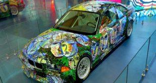 BMW Art Car - Sandro Chia - 13 Art Car India