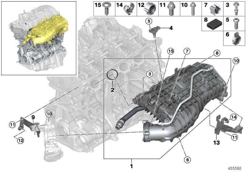 BMW B48 Intercooler Air-Liquid