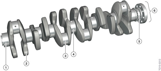 BMW B58 Crankshaft