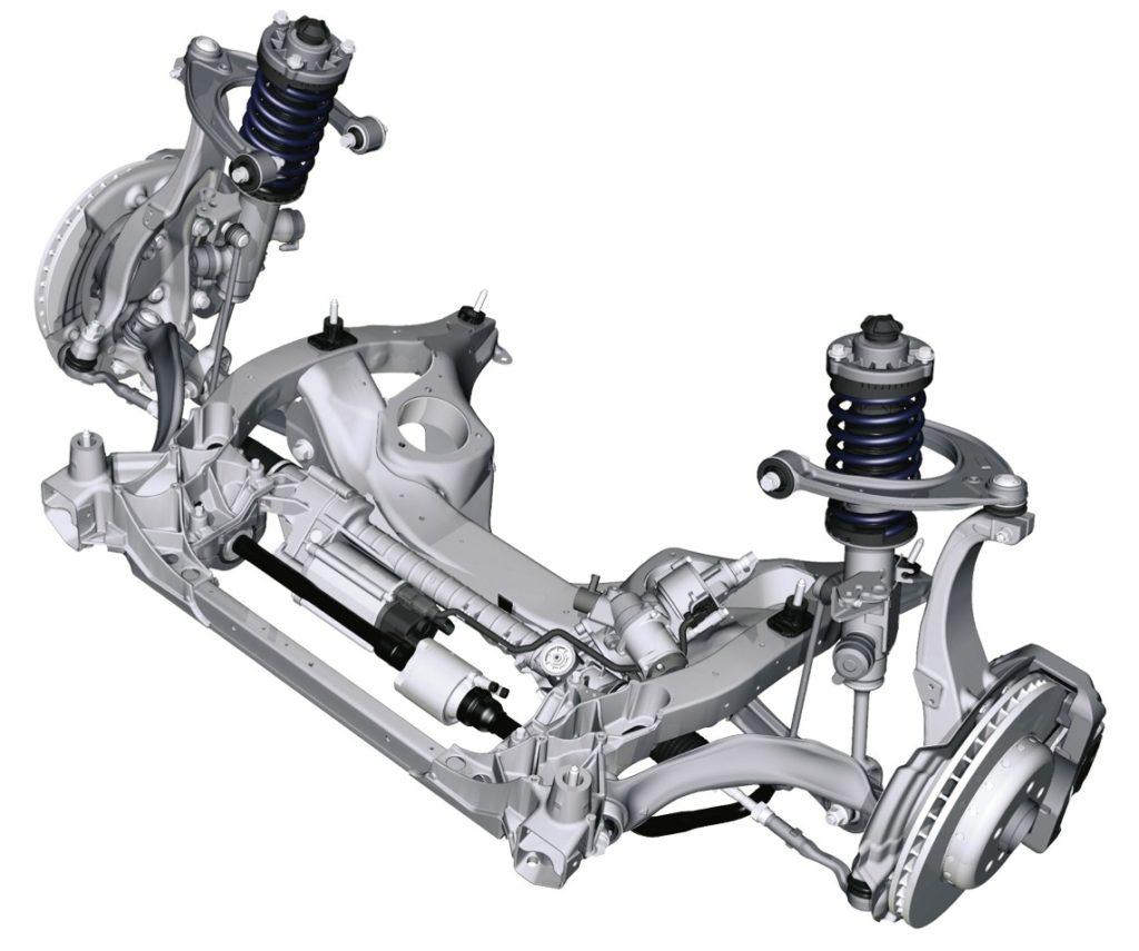 BMW Serie 5 F10 - Front Suspension