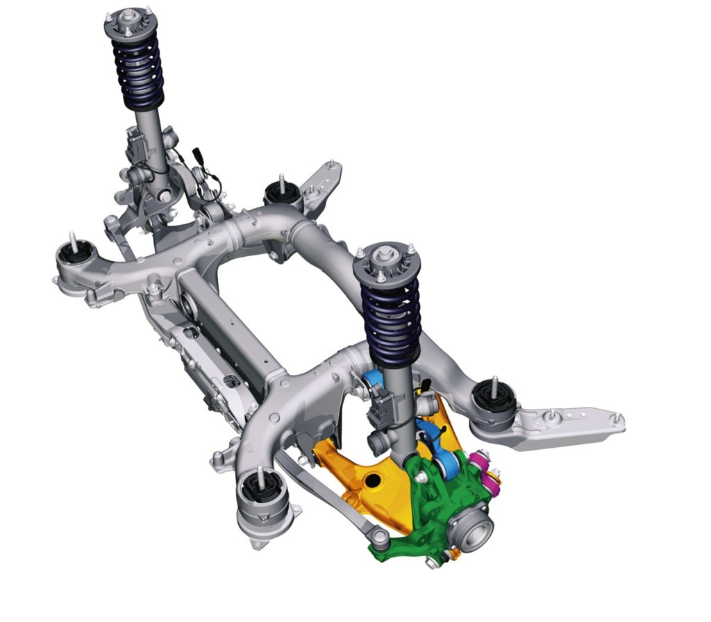 BMW Serie 5 F10 - Rear Suspension