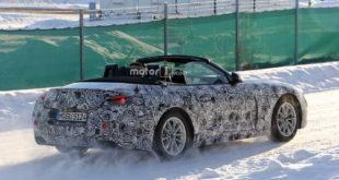 BMW Z5 Roadster 2018 G29 Spy