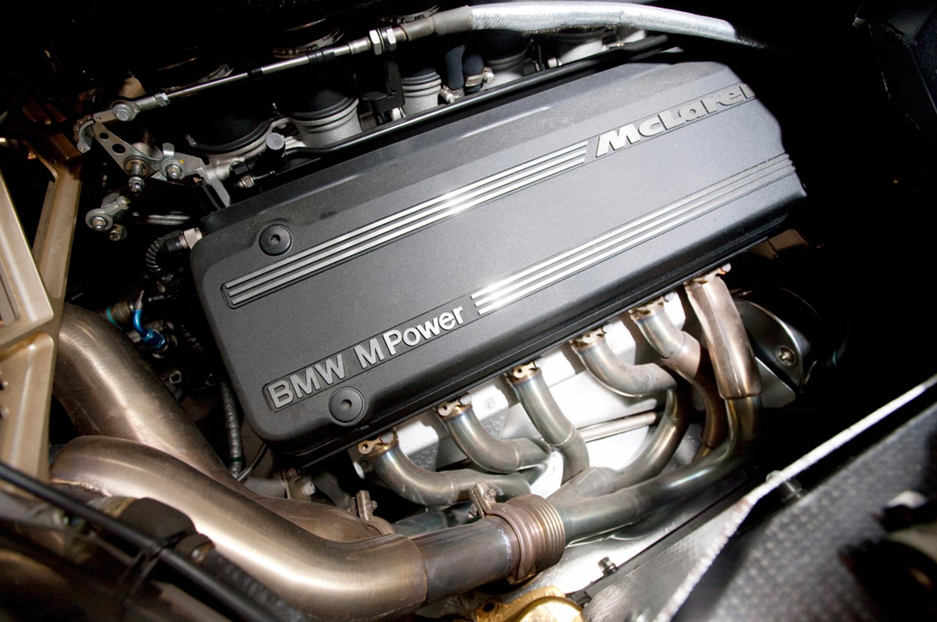 McLaren F1 BMW Engine
