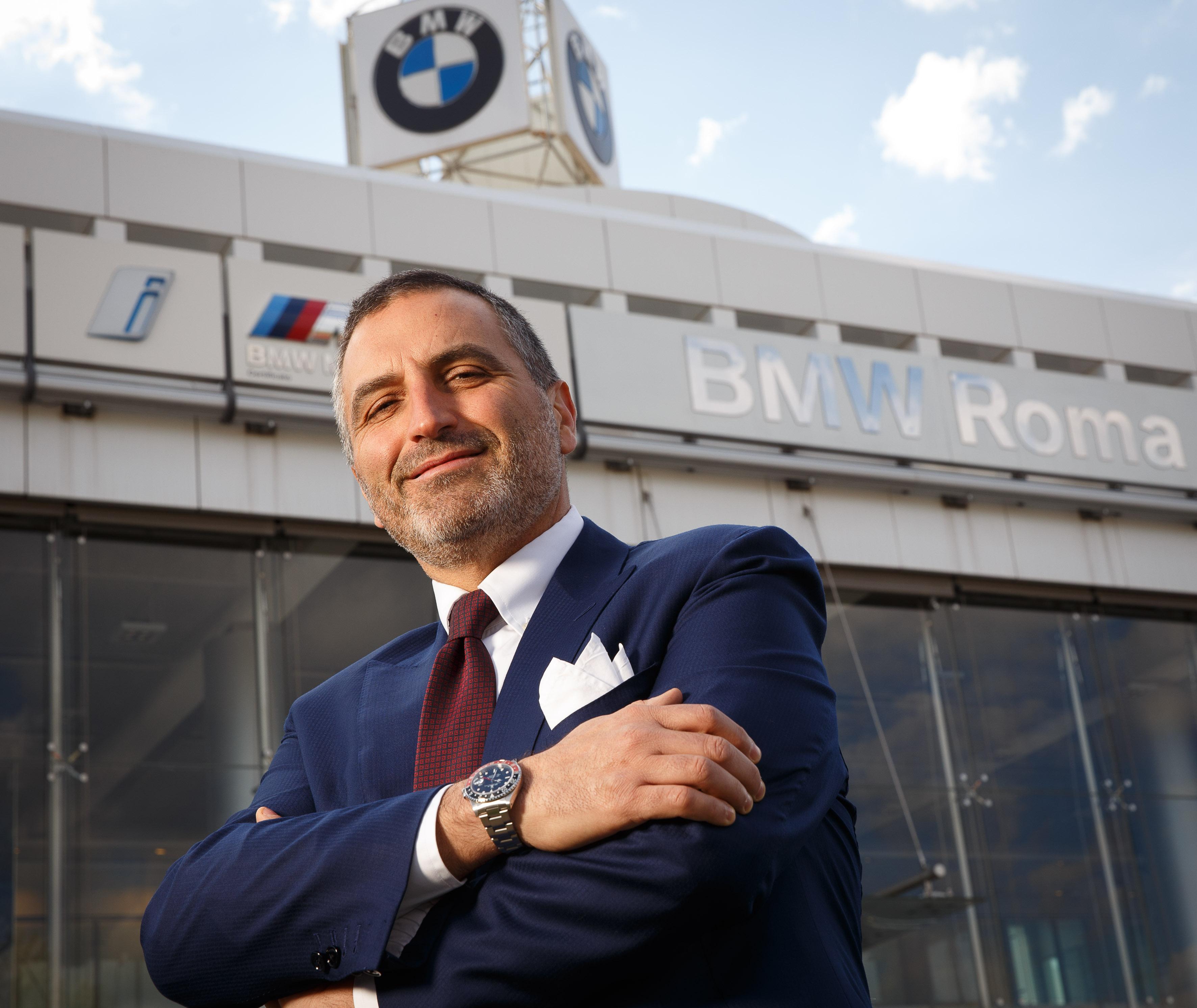 Andrea Gucciardi, Amministratore Delegato BMW Roma