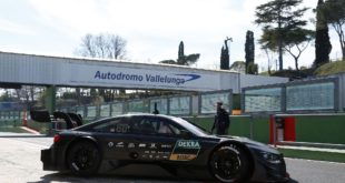 BMW M4 DTM 2017 - Test Vallelunga