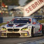 BMW M6 GTLM 12 Ore Sebring 2017