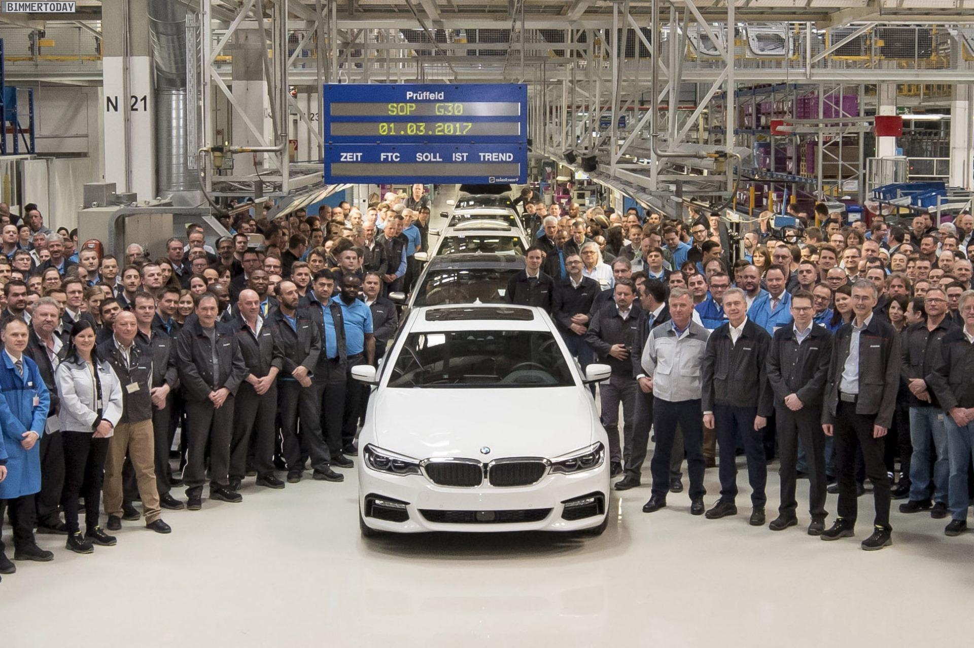 BMW Sere 5 G30 - Produzione Magna Steyr, Graz in Austria