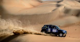 2017 Abu Dhabi Desert Challenge - Mohamed Abu Issa - Xavier Panseri - MINI ALL4 Racing - X-raid Team #209