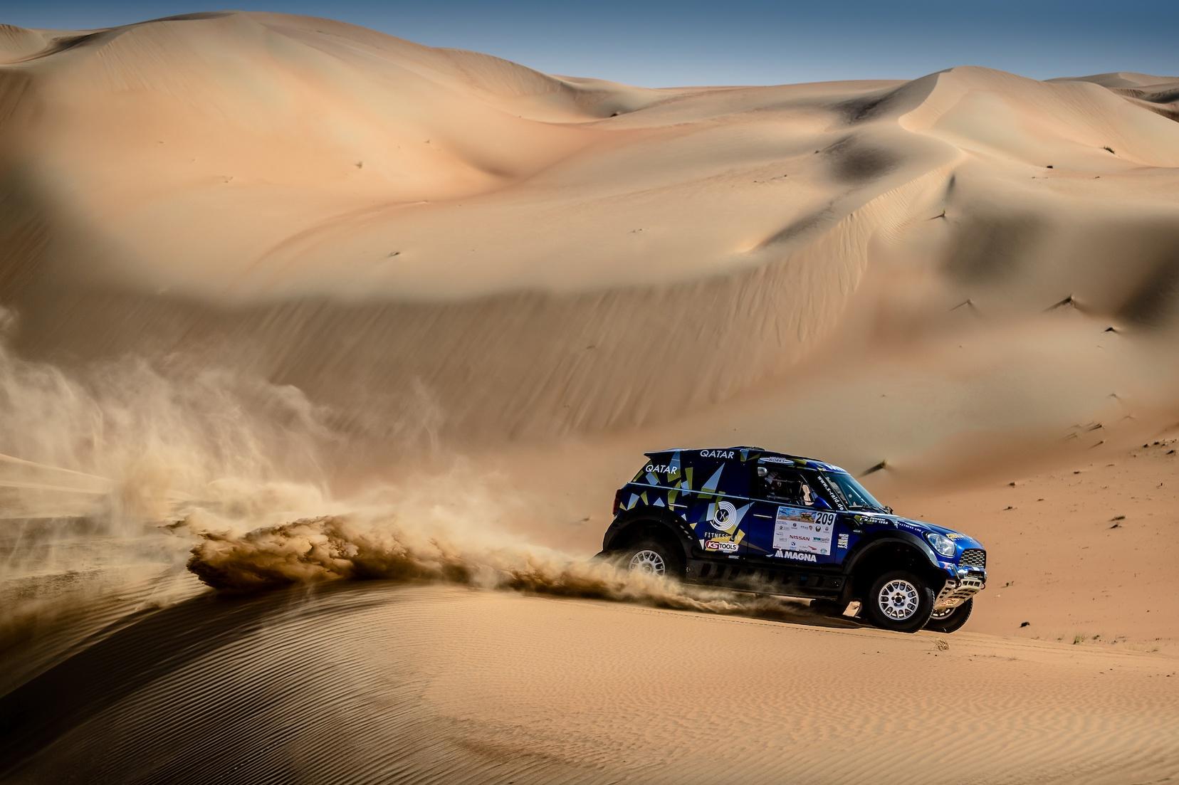 2017 Abu Dhabi Desert Challenge - Mohamed Abu Issa - Xavier Panseri - MINI ALL4 Racing - X-raid Team #209