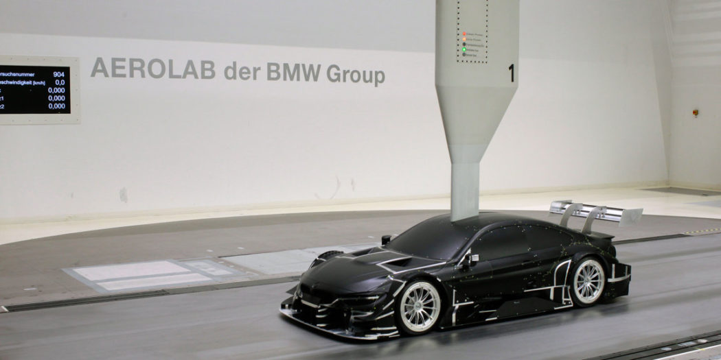 BMW Group Aero LAB - BMW M4 DTM 2017