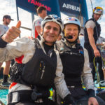 BMW Oracle Team USA - Alex Zanardi - Skipper Jimmy Spithill - America's Cup