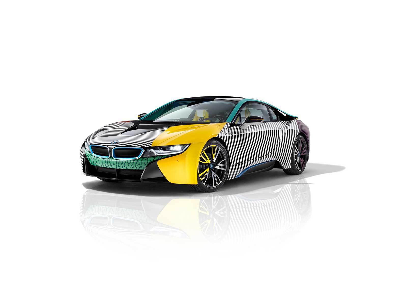 BMW i8 MemphisStyle Concept - Garage Italia Customs