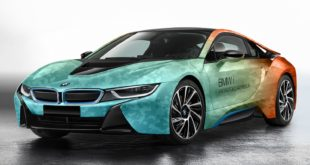 Coachella 2017 - BMW i8 Coachella Design