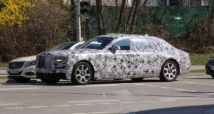 Rolls Royce Phantom 2018 Spy