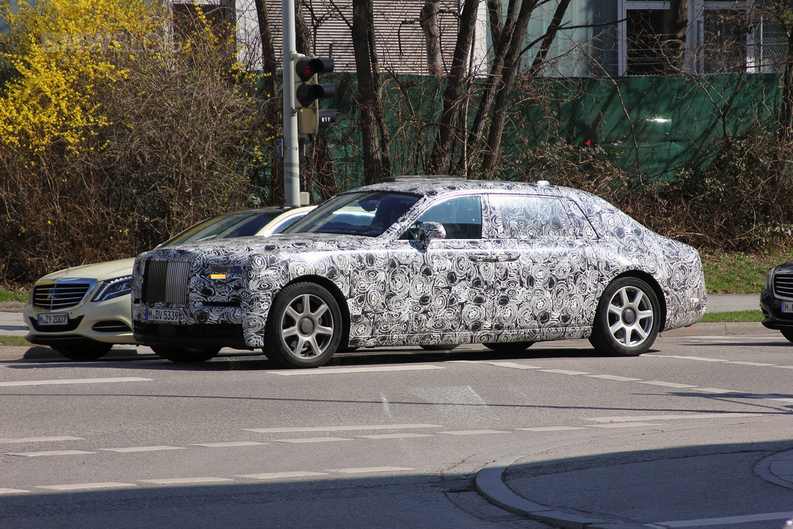 Rolls Royce Phantom 2018 Spy