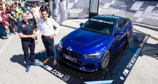 BMW M4 CS - BMW M Award 2017 - Moto GP 2017