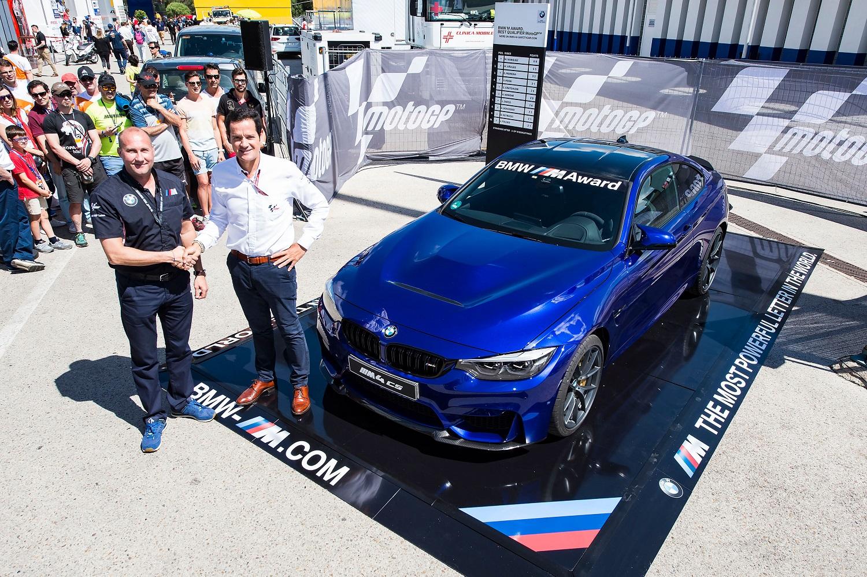 BMW M4 CS - BMW M Award 2017 - Moto GP 2017