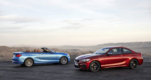 BMW Serie 2 Coupe LCI F22 - BMW Serie 2 Cabrio LCI F23