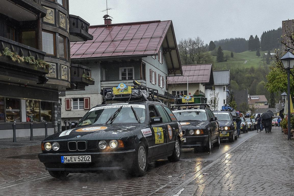 BMW Serie 5 Touring E34 - BMW 520i Touring E34 - Rally Endurance Algovia - Orient 2017