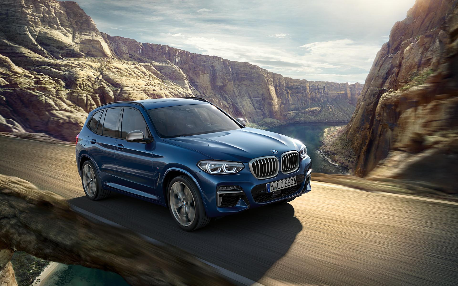 I Wallpaper della nuova BMW X3 G01 (download) - BMWpassion ...