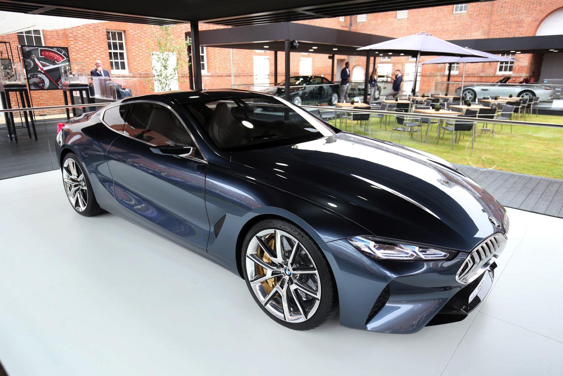 Bmw Serie 8 Concept In Diretta Dal Circuito Di Goodwood