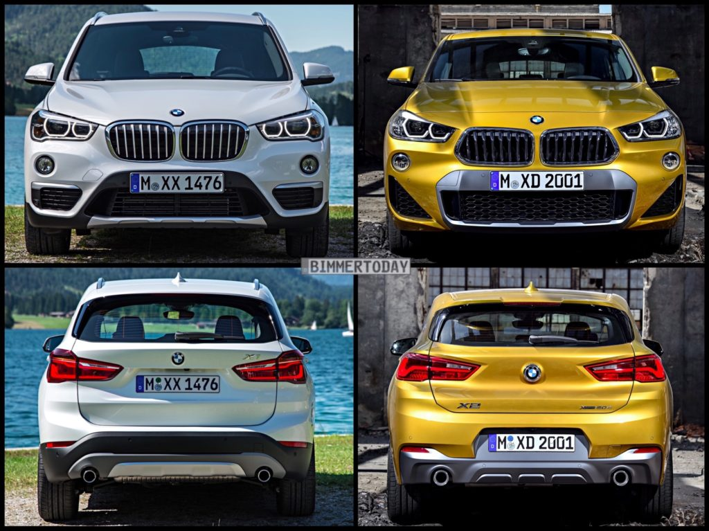 Bmw X2 Vs Bmw X1 Le Due Sorelle A Confronto Bmwpassion Blog