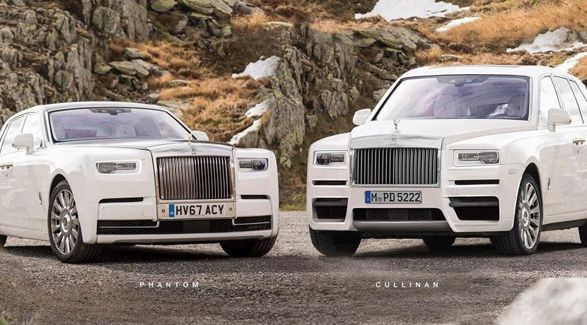 Rendering Rolls Royce Cullinan Prime Immagini Realistiche