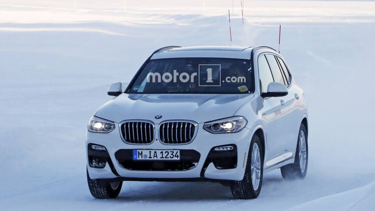 bmw x3 ibrida plug in sorpresa durante dei test invernali bmwpassion blog. Black Bedroom Furniture Sets. Home Design Ideas