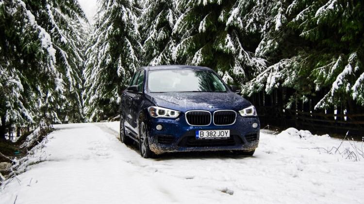 BMW X1 con gomme invernali