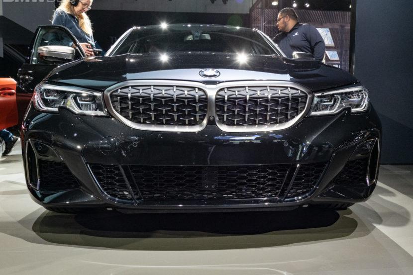 BMW M340i frontale