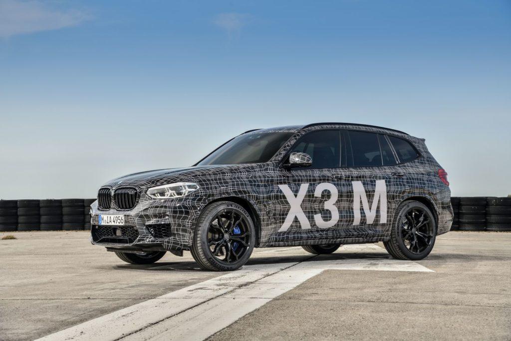 BMW X3 M immagine ufficiale
