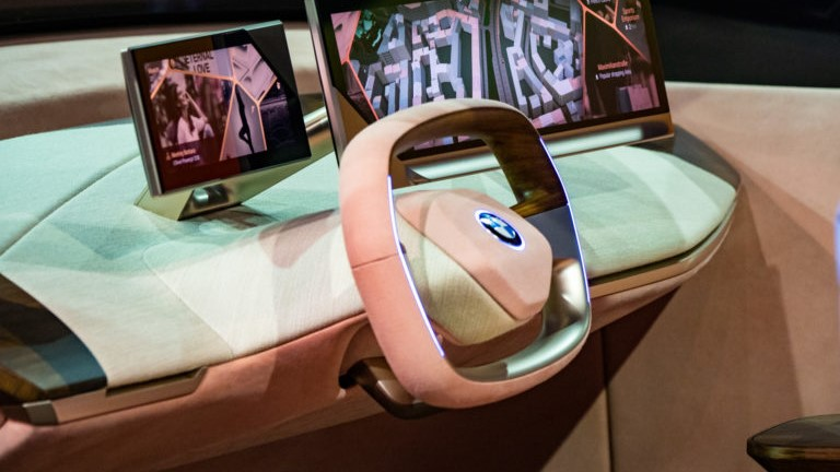 Interni BMW Vision iNEXT