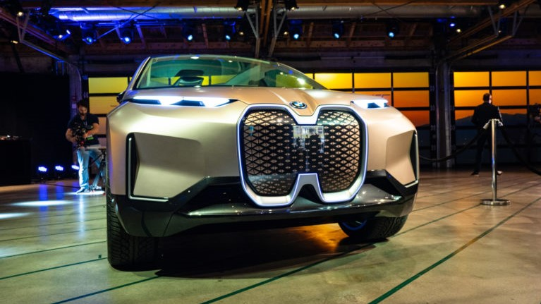 Frontale BMW Vision iNEXT