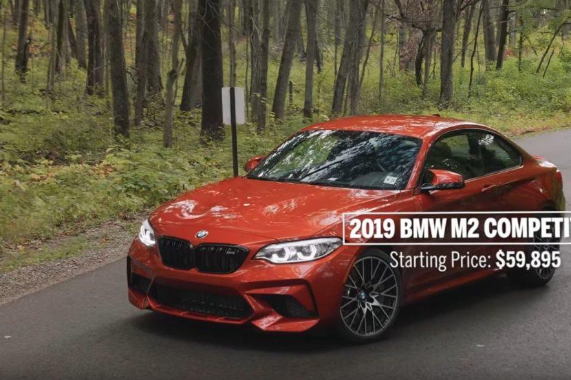 BMW M2 Competition nella Top 10 2019 di Car and Driver