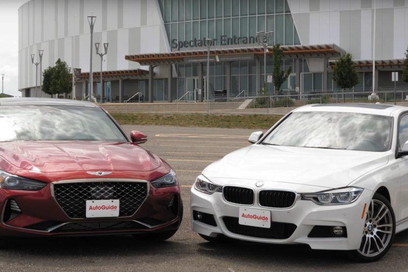 Genesis G70 e BMW 340i
