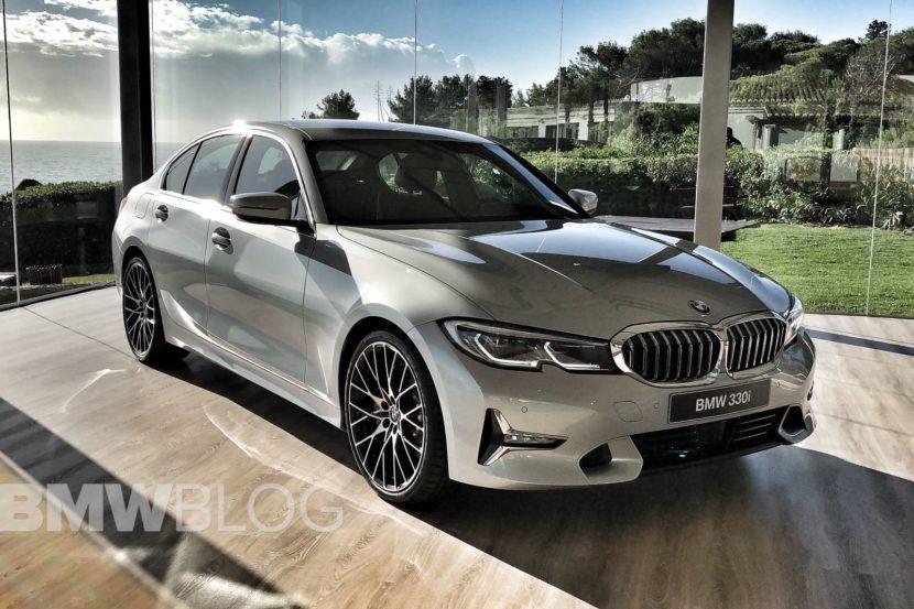 BMW Serie 3 in Glacier Silver