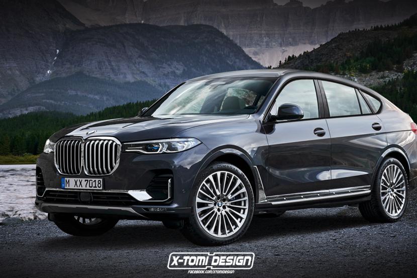 BMW X8 G09 renderizzata