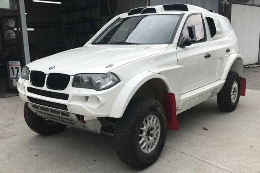 BMW X3 da rally