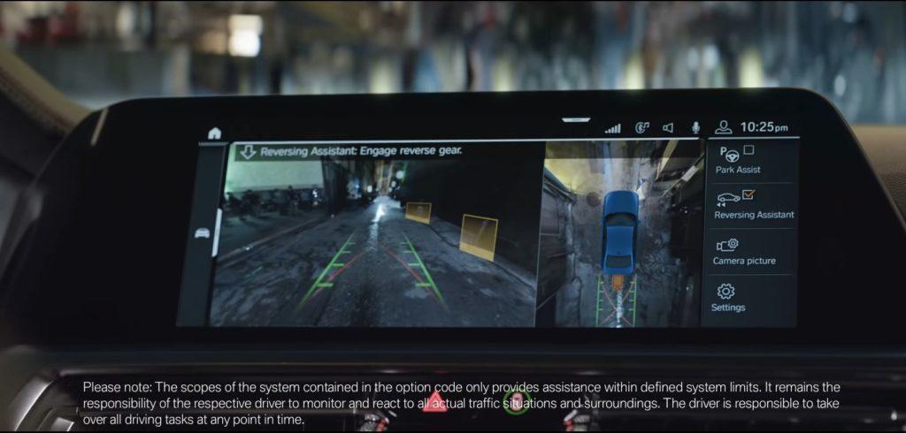 La tecnologia nello spot della BMW Serie 3 G20