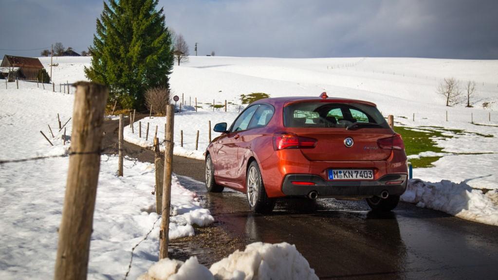 Retro della BMW Serie 1 M140i