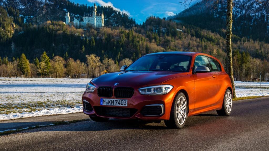 Frontale della BMW Serie 1 M140i