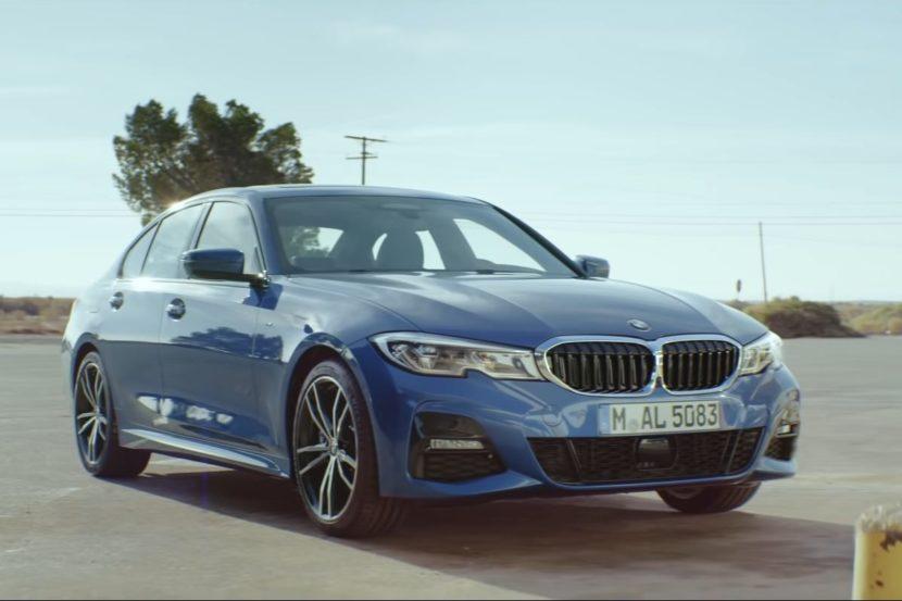 Nuovo spot della BMW Serie 3 G20