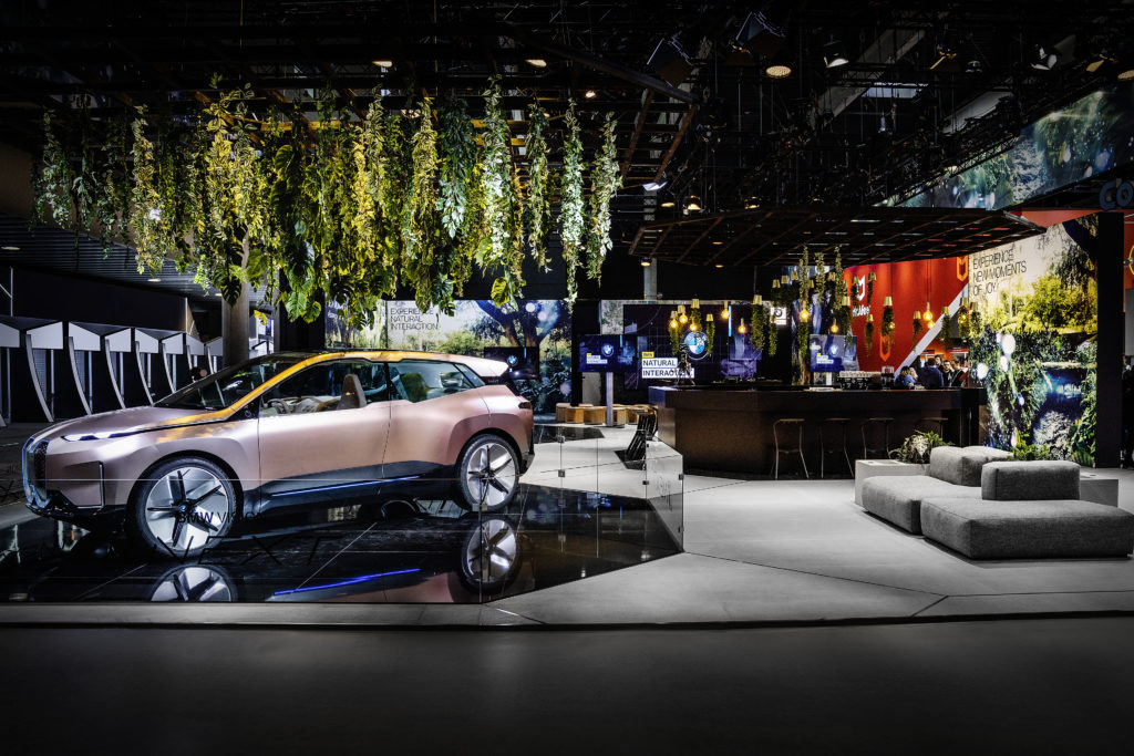 BMW al Mobile World Congress 2019